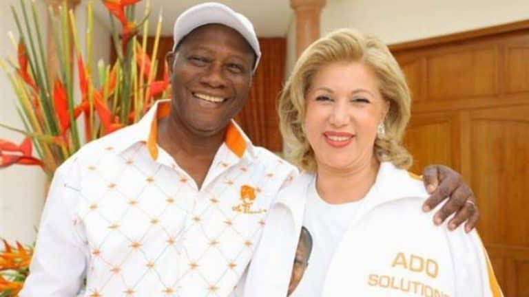 Ex Mari de Dominique Ouattara