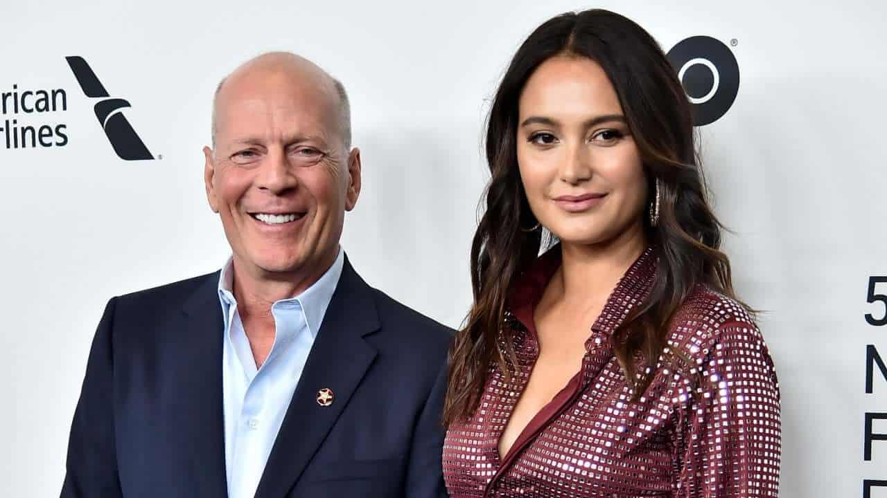 Femme de Bruce Willis