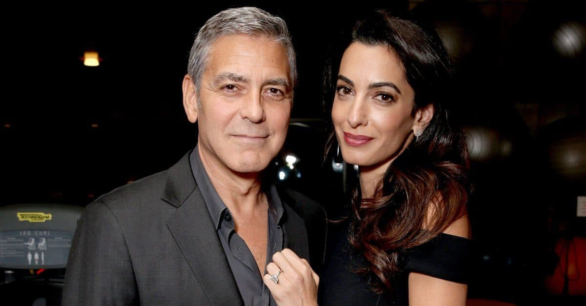 Femme de George Clooney