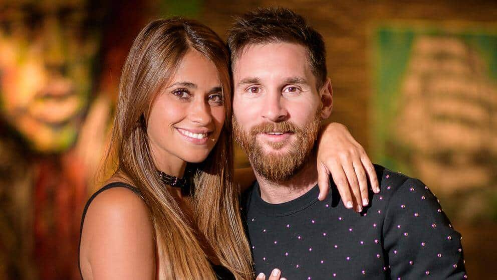 Femme de Messi