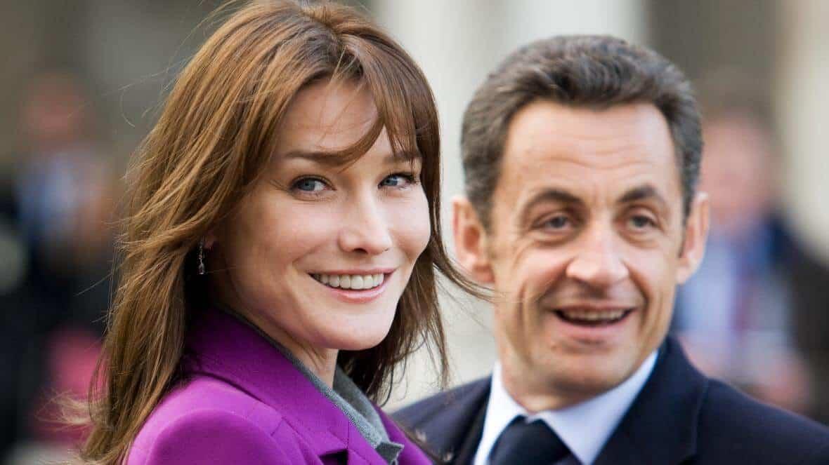 Femme de Nicolas Sarkozy