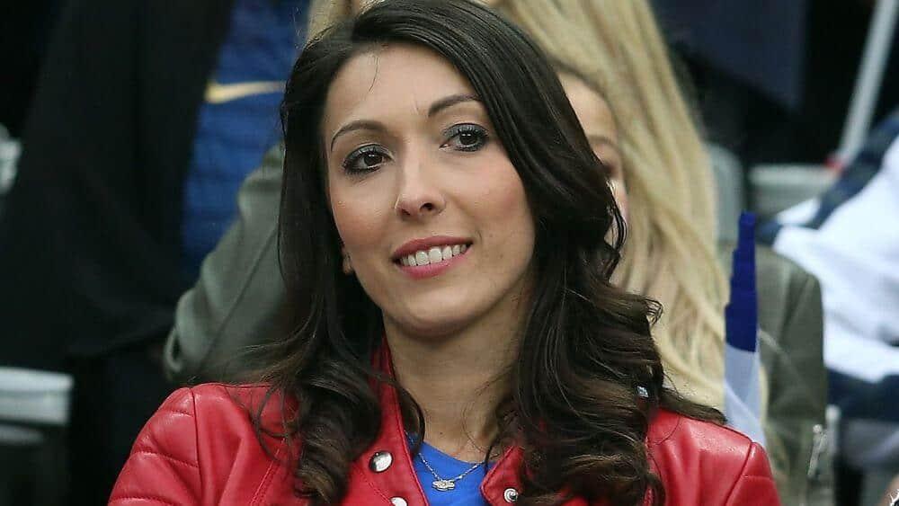 Femme de Olivier Giroud
