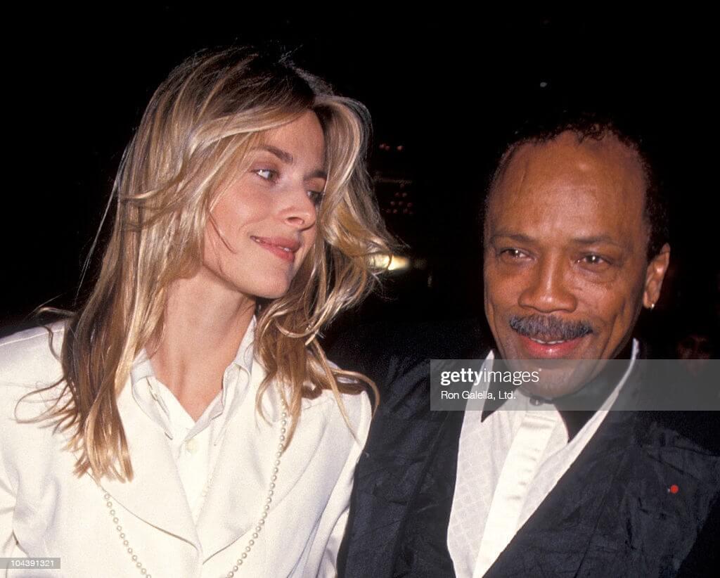 Femme de Quincy Jones