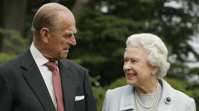 Mari de Queen Elizabeth