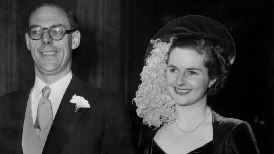 Mari de Thatcher
